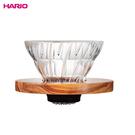 HARIO 橄欖木玻璃濾杯V01