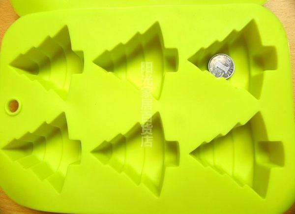 [協貿國際]  聖誕樹耐高溫矽膠模具