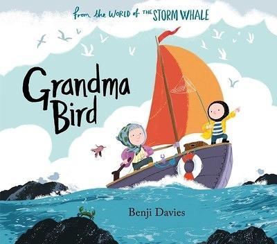 【麥克書店】GRANDMAS BIRD /英文繪本《主題: 親情.想像》 中譯: 奶奶家的小鳥