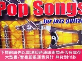 二手書博民逛書店Learn罕見play 12 pop songs arrangd for jazz guitar 12首流行曲改編
