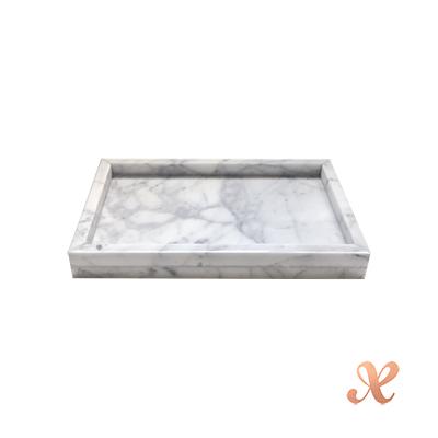 Boxtory 大理石置物盤 - 長方形