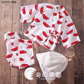 日系睡衣-睡衣女 卡通甜美睡衣 和服純棉兩件套和風睡衣紅色家居服-奇幻樂園