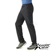 PolarStar 男 四向彈性抗UV長褲『暗灰』P21357 戶外 休閒 登山 露營 運動褲 釣魚褲