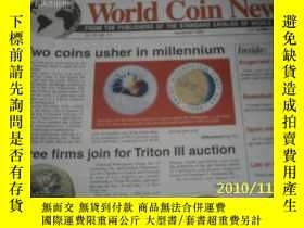 二手書博民逛書店World罕見Coin News(Vol.26,No.11)(N