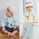 男寶寶 女寶寶 連身衣 圓領 假兩件 長袖 爬服 哈衣 Augelute Baby 64002