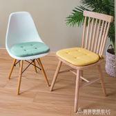 坐墊 夏天辦公室坐墊座墊軟墊子北歐椅子椅墊四季學生海綿凳子墊餐椅墊   酷斯特數位3C