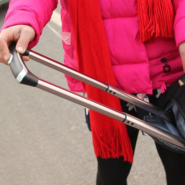 (好康免運)拉桿包旅遊女手提旅行袋男大容量行李包登機箱包可折疊防水旅行包 XW