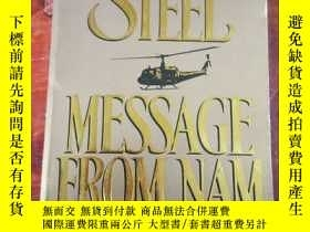二手書博民逛書店danielle罕見steel message from ham
