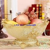 歐式水果盤家用客廳茶幾糖果盤北歐桌面收納擺件【樹可雜貨鋪】