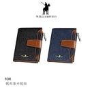 【愛瘋潮】WilliamPOLO 帆布多卡短夾 可插卡 可放零錢