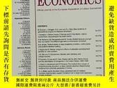 二手書博民逛書店LABOUR罕見ECONOMICS 2020年1月 英文版Y42402