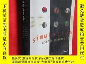 二手書博民逛書店SIMULATION罕見USING PROMODEL ( 16開