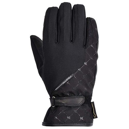【東門城】V'QUATTRO LISA-GTX 冬季防風保暖手套(黑)
