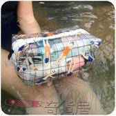 化妝包透明洗漱包防水化妝包女旅行出差洗澡洗浴袋浴兜小號便攜收納包