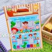 正版 迪士尼 玩具總動員 巴斯胡迪翠絲三眼怪紅心 雙孔款 開關裝飾貼紙 開關貼 貼紙 COCOS EE049