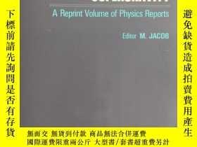 二手書博民逛書店supersymmetry罕見and supergravity-a reprint volume of Physi