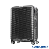 Samsonite新秀麗 25吋Polygon 極致奢華PC煞車雙輪TSA行李箱(深灰)
