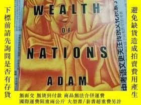 二手書博民逛書店英語原版:THE罕見WEALTH OF NATIONS(國富論)