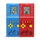 經典俄羅斯方塊游戲機 掌上小型游戲機掌機 懷舊兒童益智玩具禮物       智能生活館
