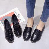 小皮鞋   英倫學院風平底單鞋韓版百搭粗跟學生女鞋   ciyo黛雅