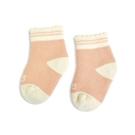 sNug 科技健康襪 新生兒寶寶襪-粉橘(0-6個月/7-10.5cm)[衛立兒生活館]