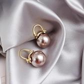 個性貝珠珍珠耳扣2020年新款潮耳環百搭時尚氣質優雅耳飾女「草莓妞妞」