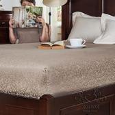 (百貨週年慶)床罩 床笠單件棉質床罩席夢思保護套床墊套 床套棉質提花床笠