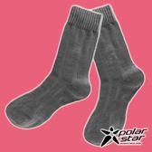 【PolarStar】女 羊毛保暖襪『炭灰』P18610 露營.戶外.登山.保暖襪.彈性襪.休閒襪.長筒襪.襪子
