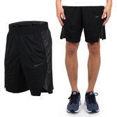 NIKE 男針織短褲 (五分褲 運動短褲 慢跑 路跑 籃球 免運 ≡排汗專家≡