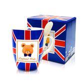 (滿3件$399)【福利品】英國貝爾-英倫附匙馬克杯340ml(小NG版)~指定商品需滿3件以上才可出貨