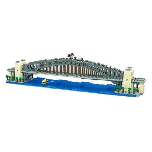 《 Nano Block 迷你積木 》NB-043 雪梨港灣大橋DX╭★ JOYBUS玩具百貨