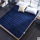加厚法蘭絨榻榻米床墊子家用1.8m雙人2米學生宿舍1.5單人床褥1.2