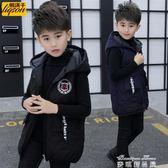 男童加厚棉馬甲背心秋冬裝小男孩兒童裝新款韓版棉衣外套 麥琪精品屋