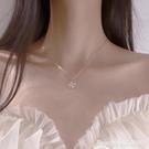 項鏈 幸運四葉草項鏈女鎖骨鏈ins冷淡風純銀潮氣質韓版簡約小眾設計感 星河光年
