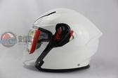 [安信騎士]  義大利 AGV K-5 K5 JET 素色 白色 半罩 安全帽 內建墨片