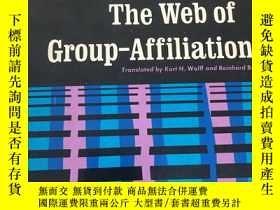 二手書博民逛書店Conflict罕見and the web of group-affiliationsY235849 Geor