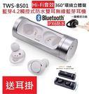 Hi-Fi音質 TWS BS01觸控式防...