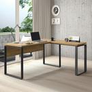 簡單樂活康迪仕5尺L型書桌-黃金橡木 /DIY自行組合產品