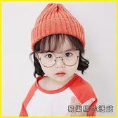 兒童毛線帽寶寶帽子秋冬季毛線帽