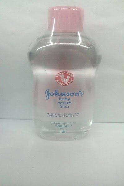 JOHNSONS 嬰兒 潤膚油 500ml*6瓶 ~原裝進口