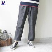 【早秋新品】American Bluedeer - 日系鬆緊帶休閒褲(魅力價) 秋冬新款