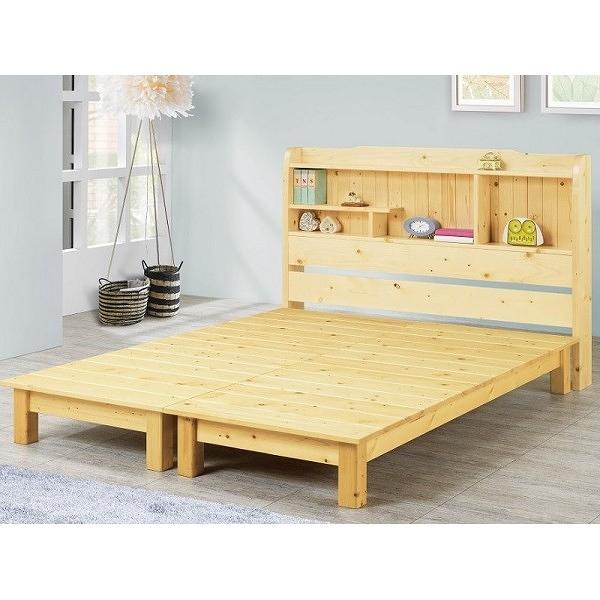 床架 床台 FB-571-12 松木5尺床架 (不含床墊) 【大眾家居舘】