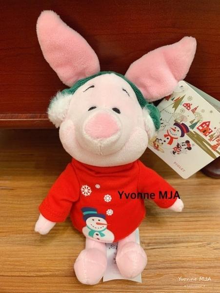 *Yvonne MJA* 美國迪士尼Disney 預購區 正版限定商品 聖誕精裝版小豬 精緻娃娃