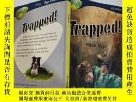 二手書博民逛書店trapped罕見被困.., Y200392