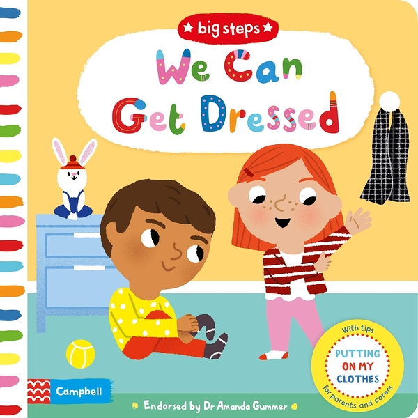 Big Steps:We Can Get Dressed 生活練習:穿衣服操作書