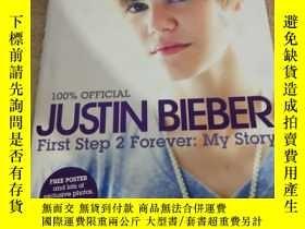 二手書博民逛書店Justin罕見Bieber:First Step 2 Fore
