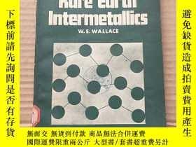 二手書博民逛書店rare罕見earth intermetallics(P712)Y173412
