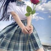 百褶裙 jk制服裙現貨女高腰a字顯瘦格子白菜裙子短裙格裙學生 町目家
