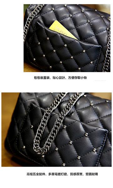 歐美風 包包 時尚簡約小方包 側背包 斜背包 -669夜曲-寶來小舖-現貨販售