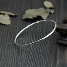純銀手環(泰銀)-簡約細緻情人節生日禮物...